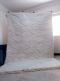 Beni Ourain  Style  - Berber Rug - Tribal Rug - Nice Pile - Full Wool - 298 X 207cm
