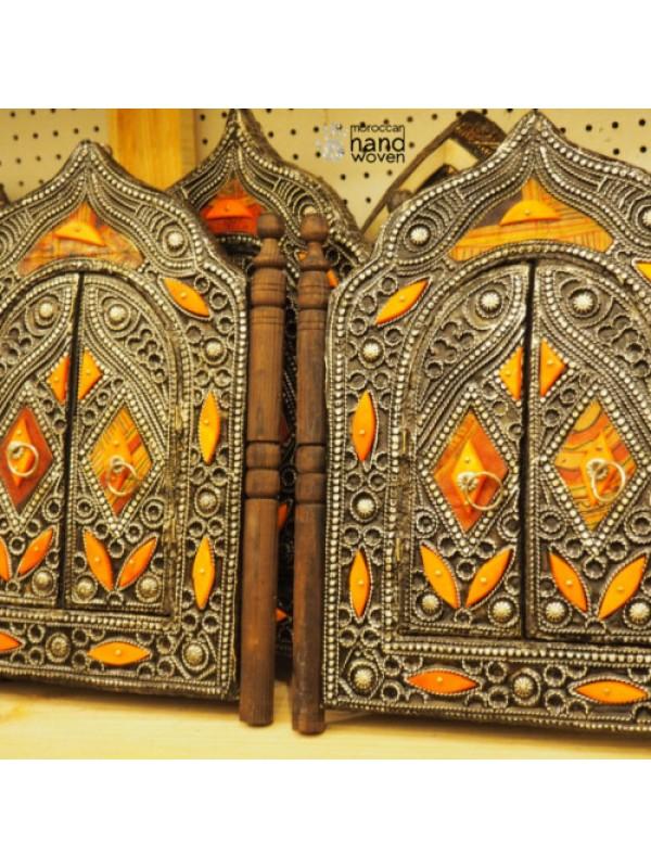 set 2 authentic Moroccan handmade mirror