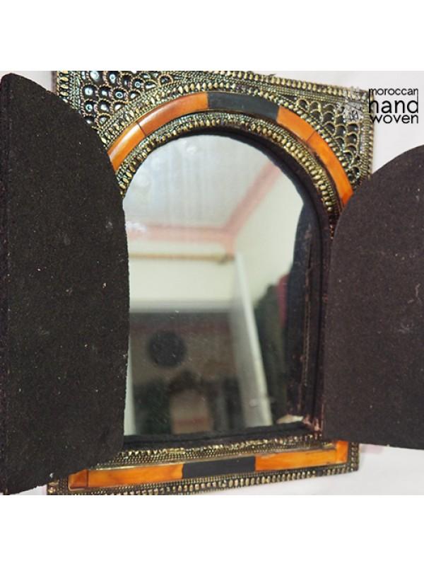 Square Authentic handmade Moroccan mirror