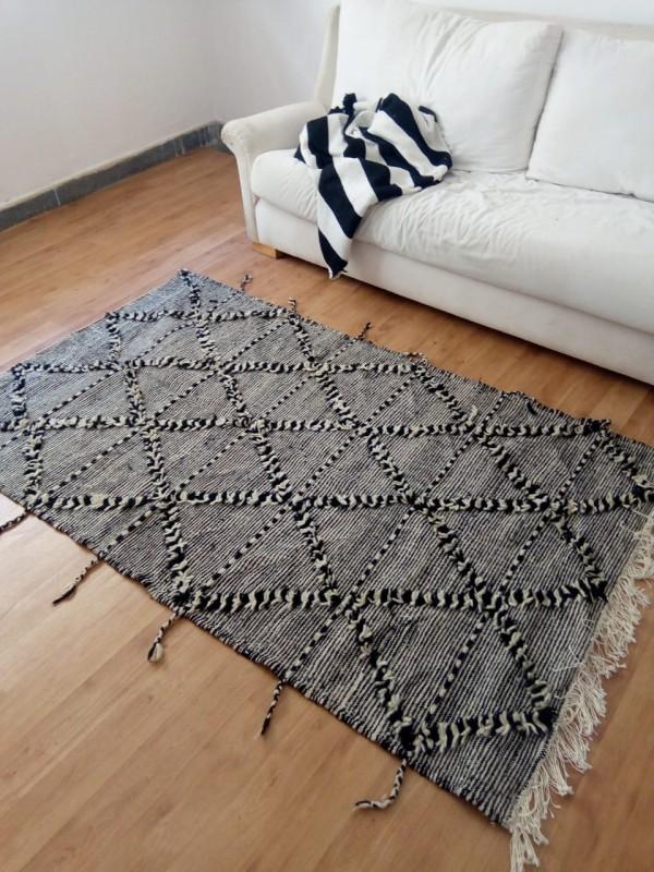 Moroccan  zanafi - rug berber style Hand Knotted