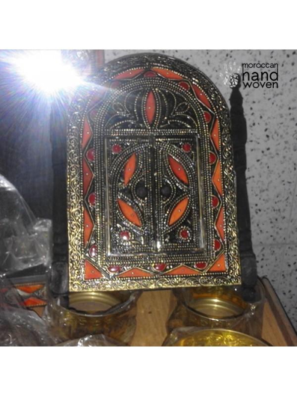 authentic Moroccan Mirror with doors Handmade New