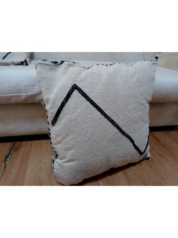 beni ourain kilim cushions/beni ourian lines pillow/unstuffed pillow 53x49 CM