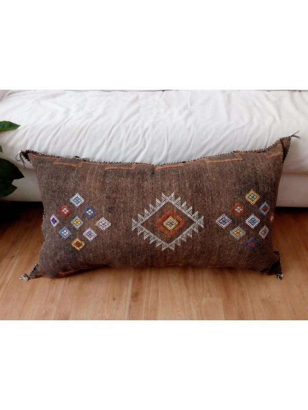 LUMBAR Sabra silk large Moroccan sabra CACTUS Silk pillow - Cactus silk cushion unstuffed