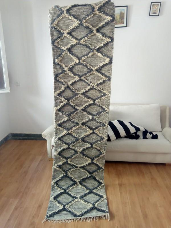 Fantastic runner zanafi rug, snake style