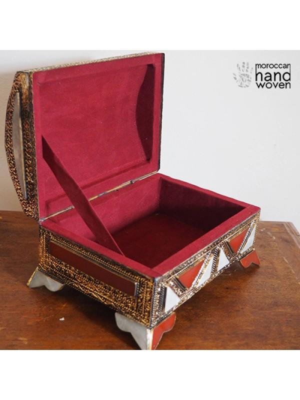 antique box/handmade box/antique chest