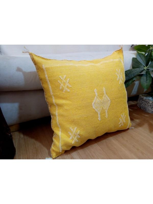 Cactus cushion Moroccan sabra pillow CACTUS Silk pillow 50x48 CM  -  Boho CUSHION Moroccan Style unstuffed