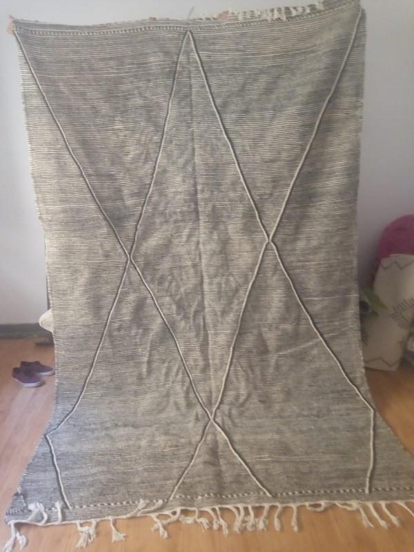 Moroccan zanafi rug berber style Hand Knotted