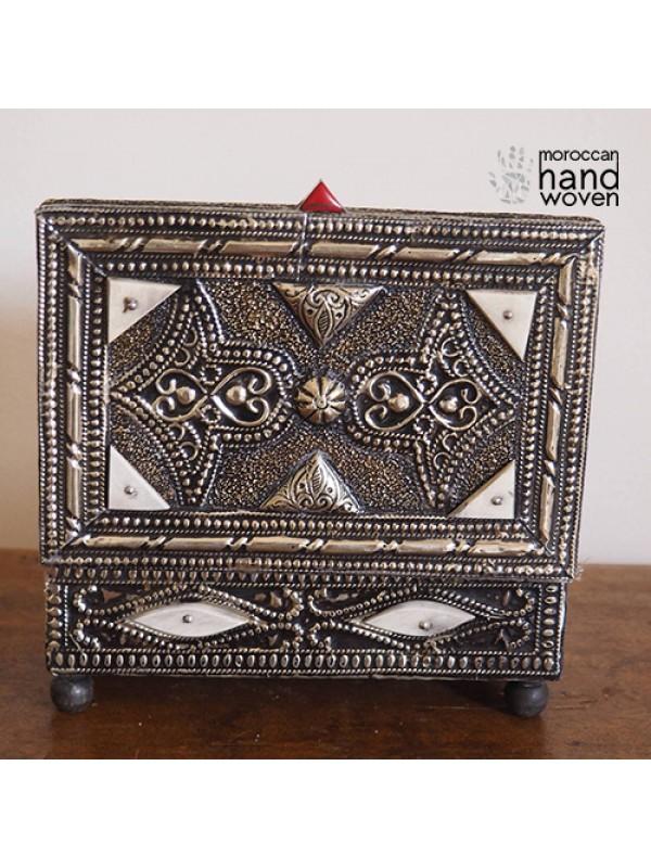 Moroccan jewelry box, chest, home decor