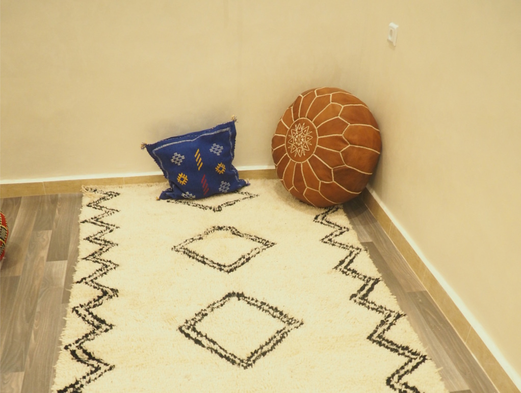 Moroccan Rugs - Moroccan Poofs - Marrakech